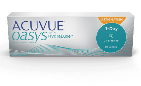 ACUVUE OASYS 1-DAY whit Hydraluxe